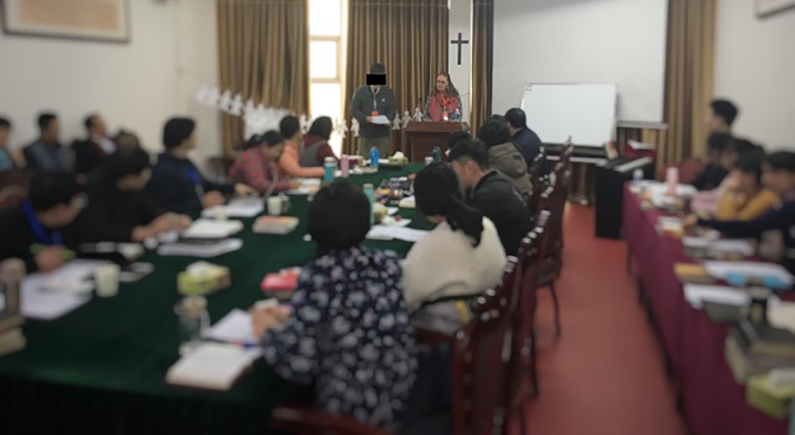 Family mobilization training is launched in China despite tight security