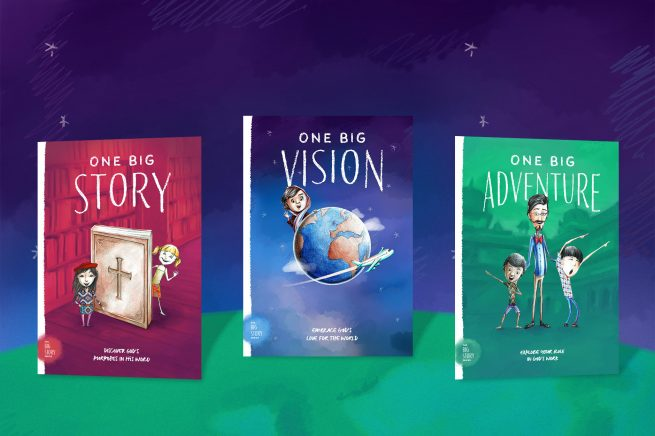 From the classroom to the home: The Big Story Series guides families all over the world into their role in God's mission
